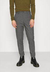 Selected Homme - SLHSLIMTAPERED THEO PANTS - Trousers - grey/houndstooth - 0