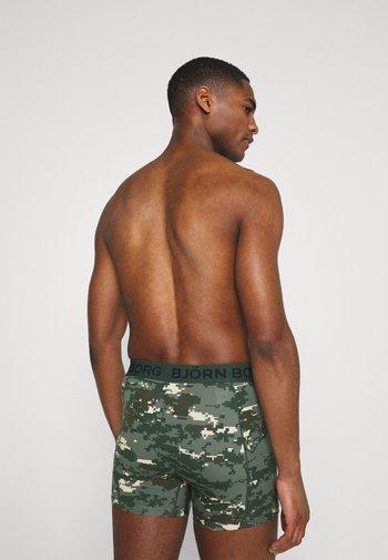 DIGITAL WOODLAND SAMMY 2 PACK - Underkläder - duck green