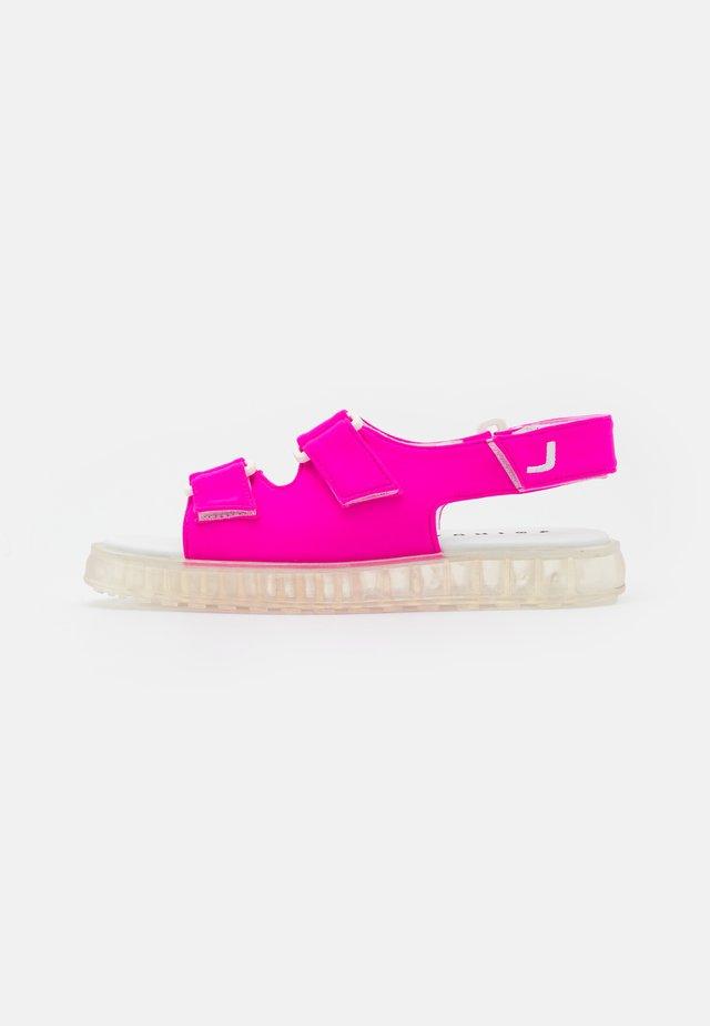 AIR  - Sandals - fuchsia