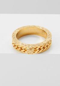 Versace - Anillo - oro caldo - 4
