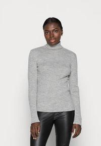 Selected Femme - Jumper - light grey melange - 0