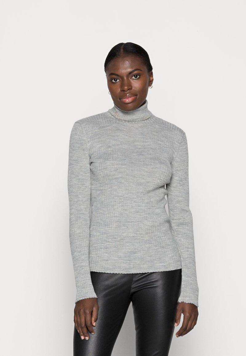 Selected Femme - Jumper - light grey melange