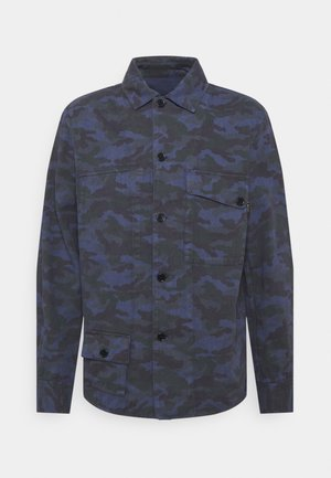 MENS REVERSIBLE - Summer jacket - dark blue