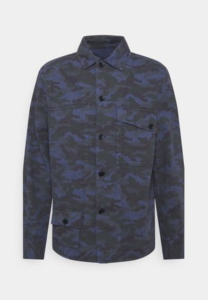 REVERSIBLE OVERSHIRT - Giacca leggera - dark blue