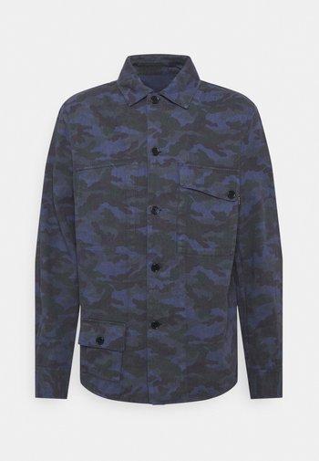 REVERSIBLE OVERSHIRT - Summer jacket - dark blue
