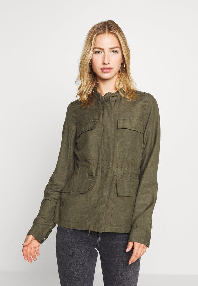NMCASUAL - Summer jacket - dusty olive