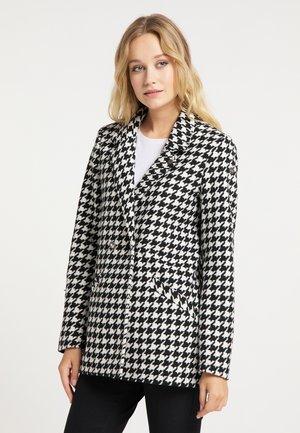 Krótki płaszcz - hahnentritt