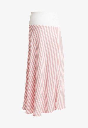 SKIRT BREEZE - Długa spódnica - white/red