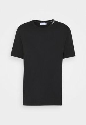 MINI NECK LOGO - T-shirt basic - black
