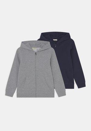 KID FULL ZIP 2 PACK - Bluza rozpinana - navy blazer/lilac hint