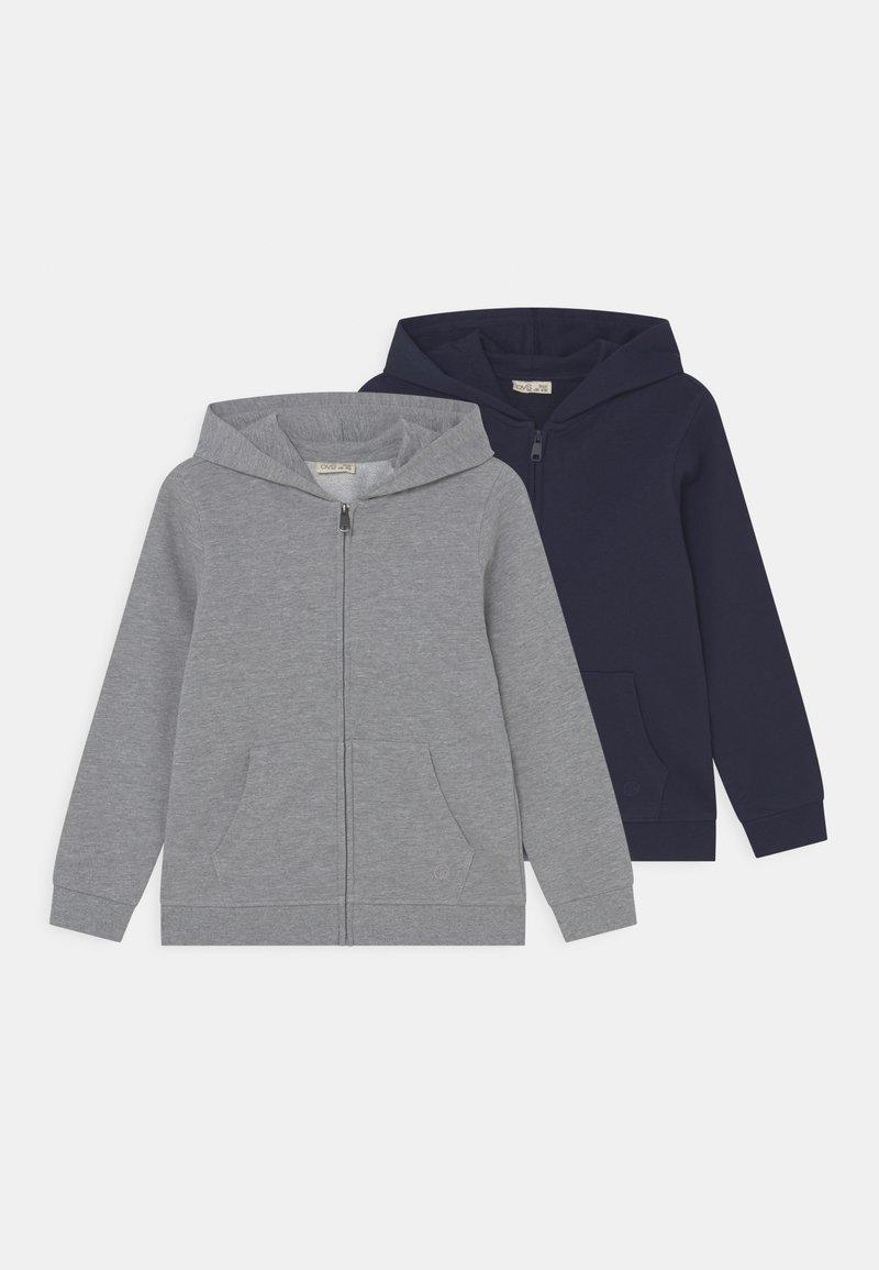 OVS - KID FULL ZIP 2 PACK - Sweatjakke - navy blazer/lilac hint