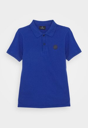 TONAL CHEST ARTWORK - Polo shirt - yinmin blue