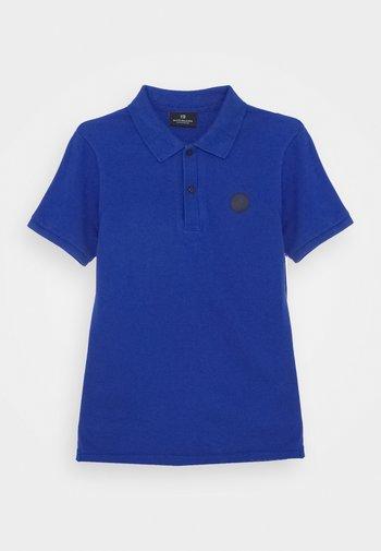 TONAL CHEST ARTWORK - Polo shirt - yinmin blue