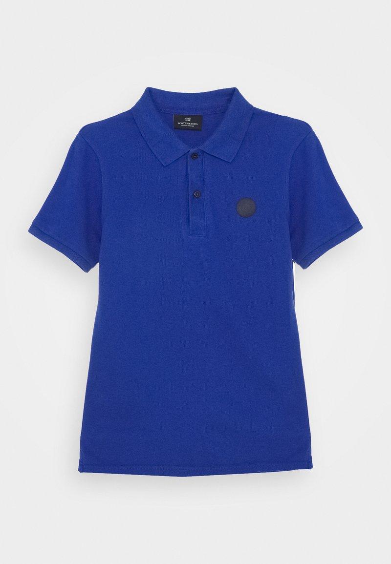 Scotch & Soda - TONAL CHEST ARTWORK - Polo shirt - yinmin blue