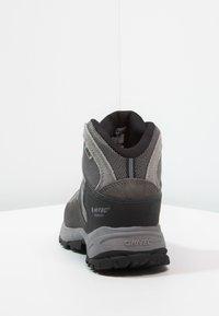 Hi-Tec - BANDERA LITE MID WP - Chaussures de marche - charcoal/grey/goblin blue - 3