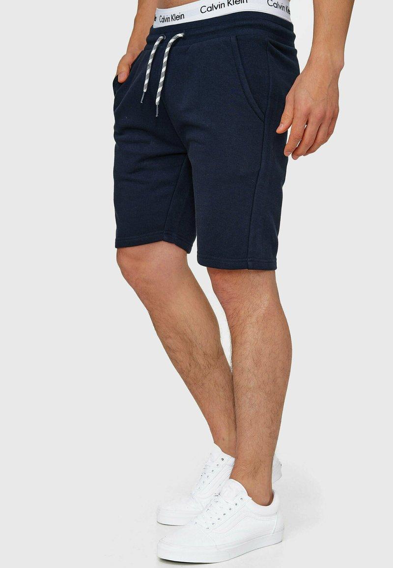 INDICODE JEANS - Yates - Shorts - navy