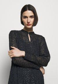 Bruuns Bazaar - ALEXANDRIA CAMARI DRESS - Shirt dress - navy blue - 3