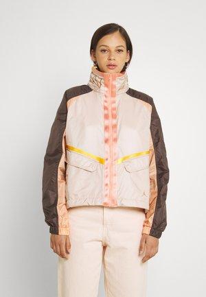 FUTURE - Summer jacket - particle beige/ironstone/red bronze
