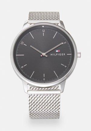 HENDRIX UNISEX - Montre - silver-coloured/black