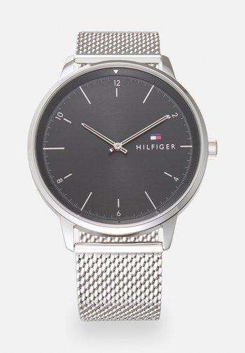 HENDRIX UNISEX - Klokke - silver-coloured/black