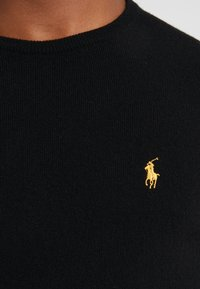 Polo Ralph Lauren - LORYELLE  - Jumper - black/gold - 4