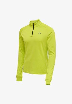 RUNNING - NEWLINE CORE - Long sleeved top - gruen