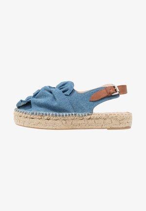 Espadrilles - blue