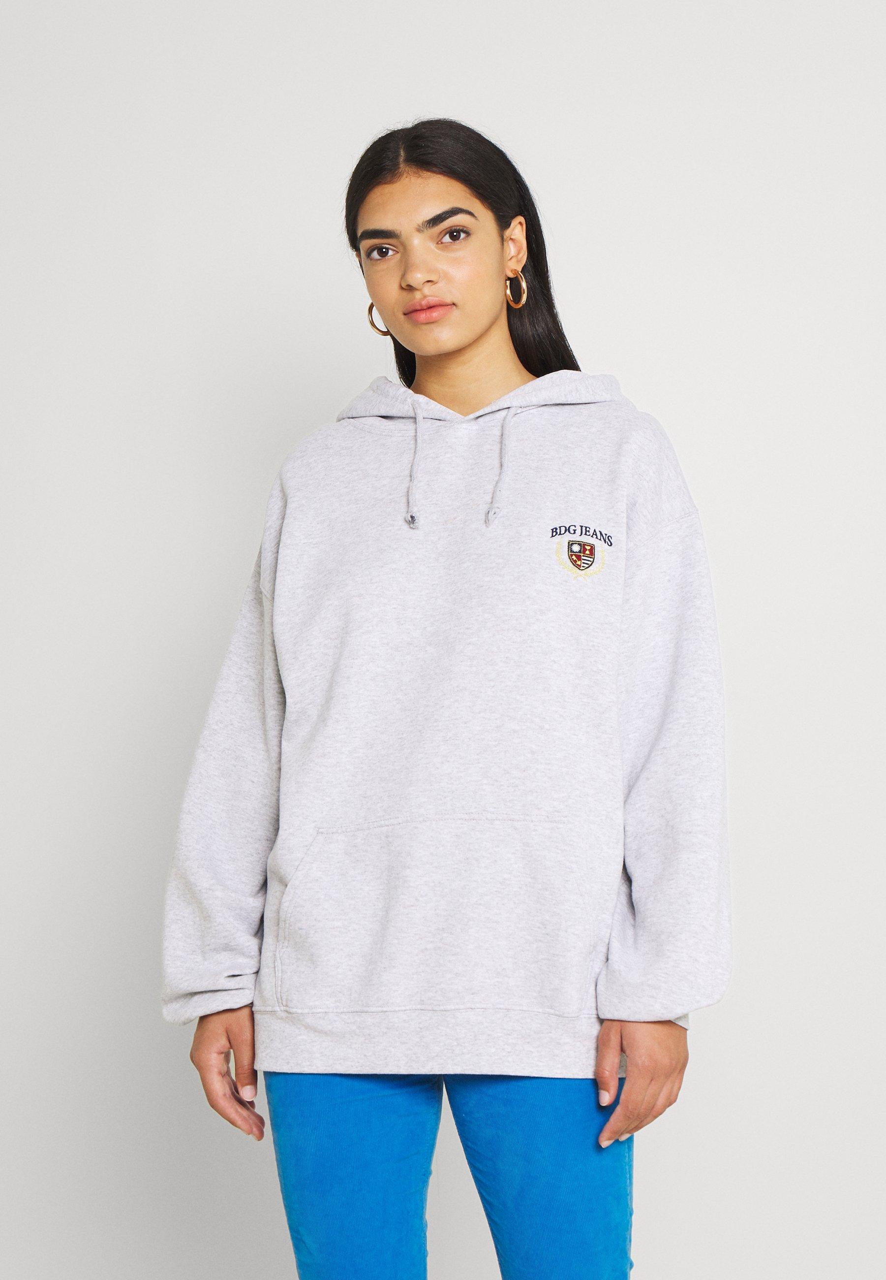 Women EMBROIDERED LOGO HOODIE - Sweatshirt