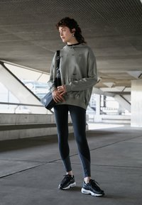 Nike Sportswear - Leggings - black/smoke grey - 1