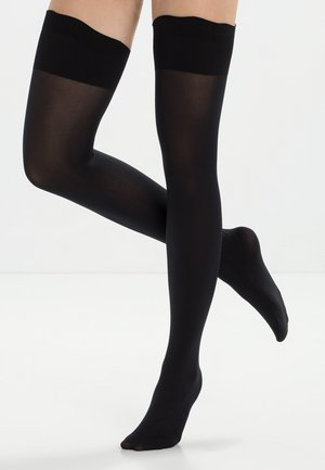 Over-the-knee socks - black