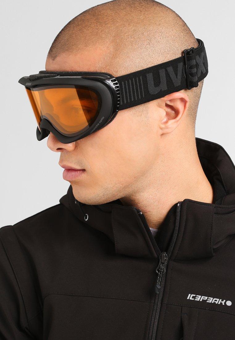 Uvex - COMANCHE - Ski goggles - black