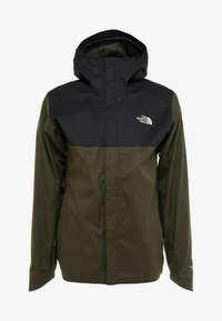 The North Face - QUEST ZIP IN JACKET - Kurtka hardshell - new taupe green/black - 4