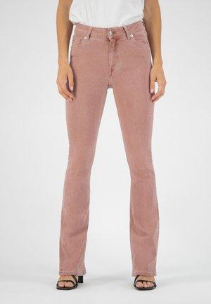 Bootcut jeans - terra