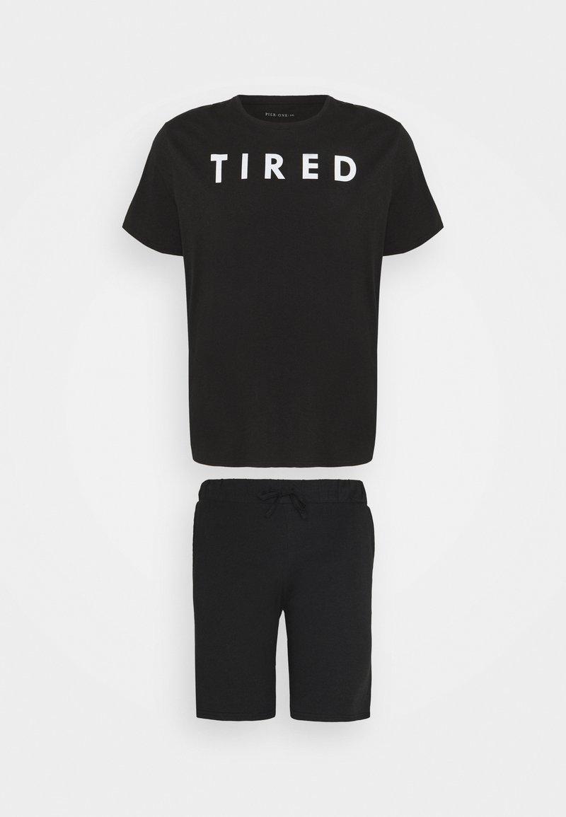 Pier One - SET - Pyžamo - black