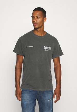 UNKNOWN PLANETS SHIRT - T-shirts print - washed black