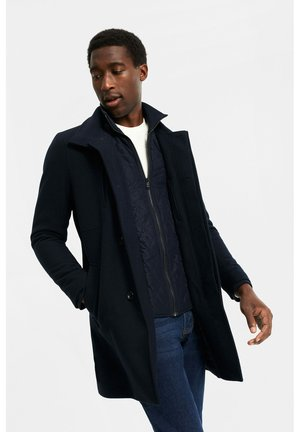 Klasický kabát - dark blue