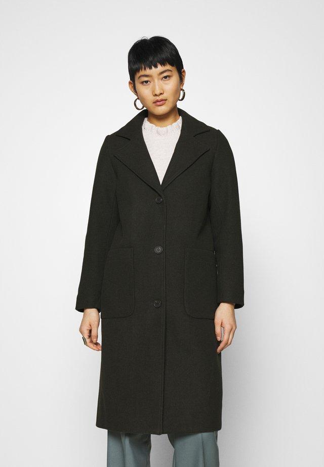 ALEXA - Zimní kabát - dark olive