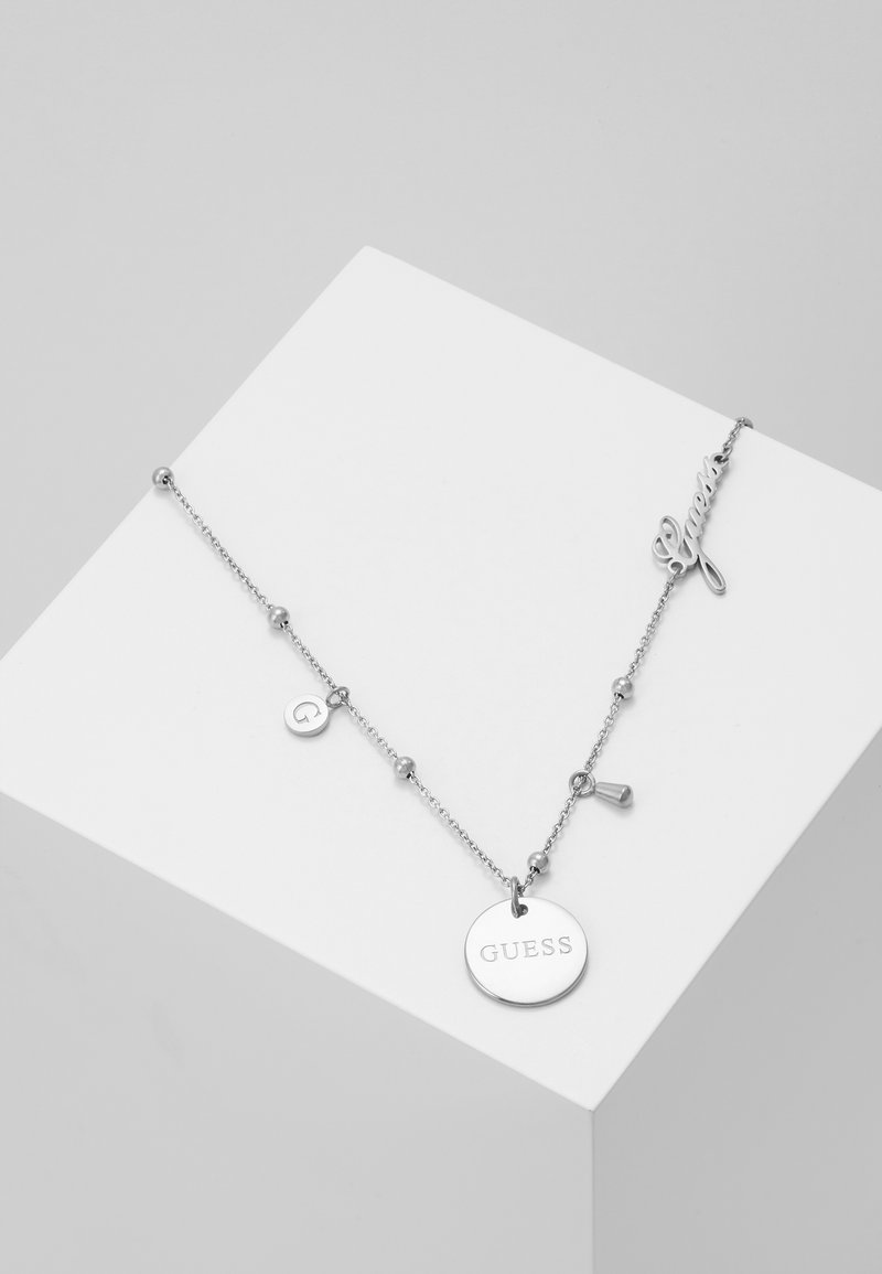 Guess - PEONY ART - Necklace - silver-coloured