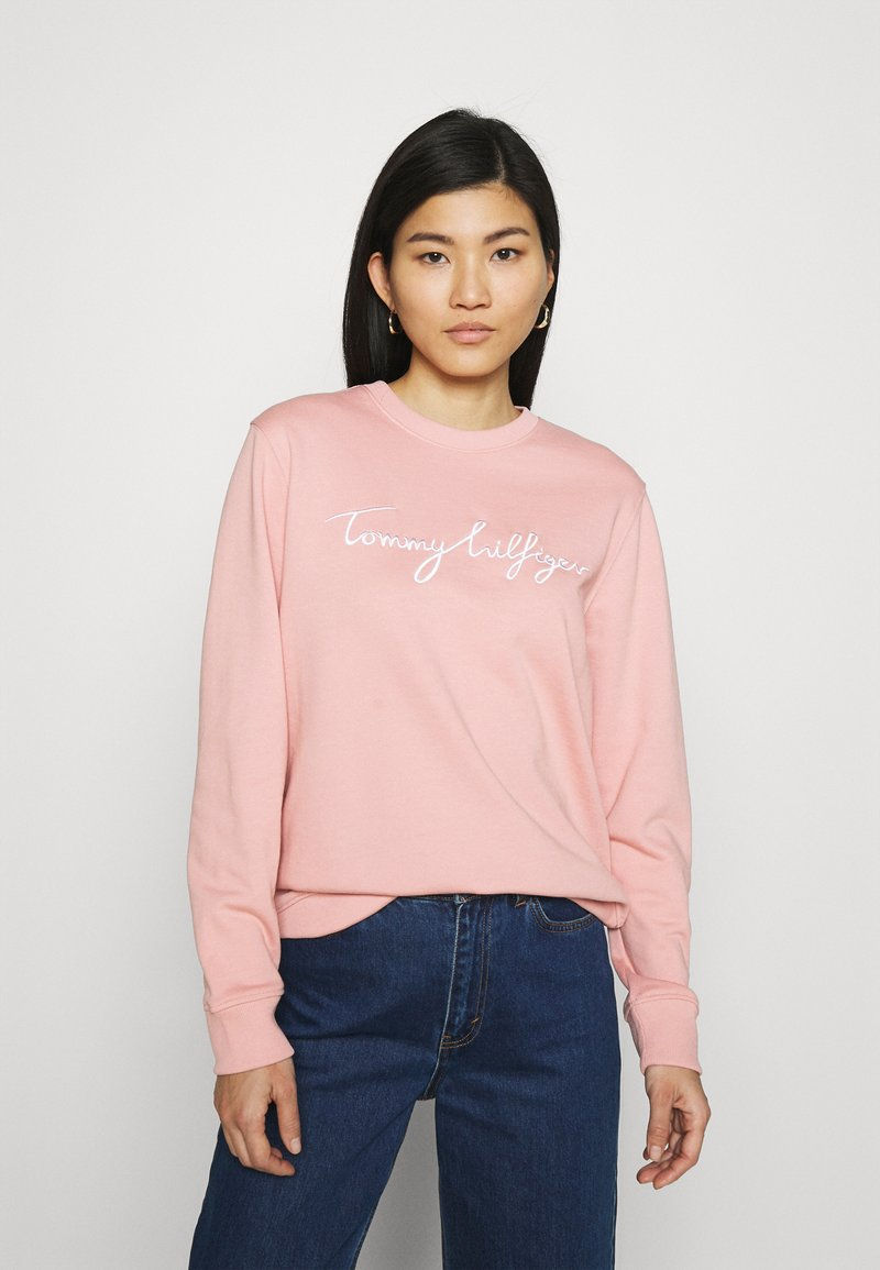 Tommy Hilfiger - REGULAR GRAPHIC - Sweatshirt - soothing pink