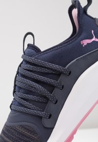 Puma Golf - IGNITE NXT SOLELACE - Golfové boty - peacoat/metallic pink - 5