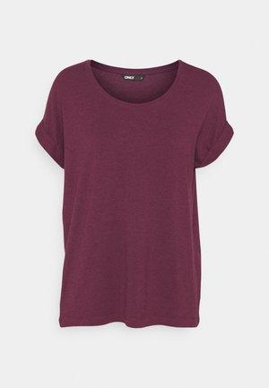 ONLMOSTER ONECK - Basic T-shirt - zinfandel