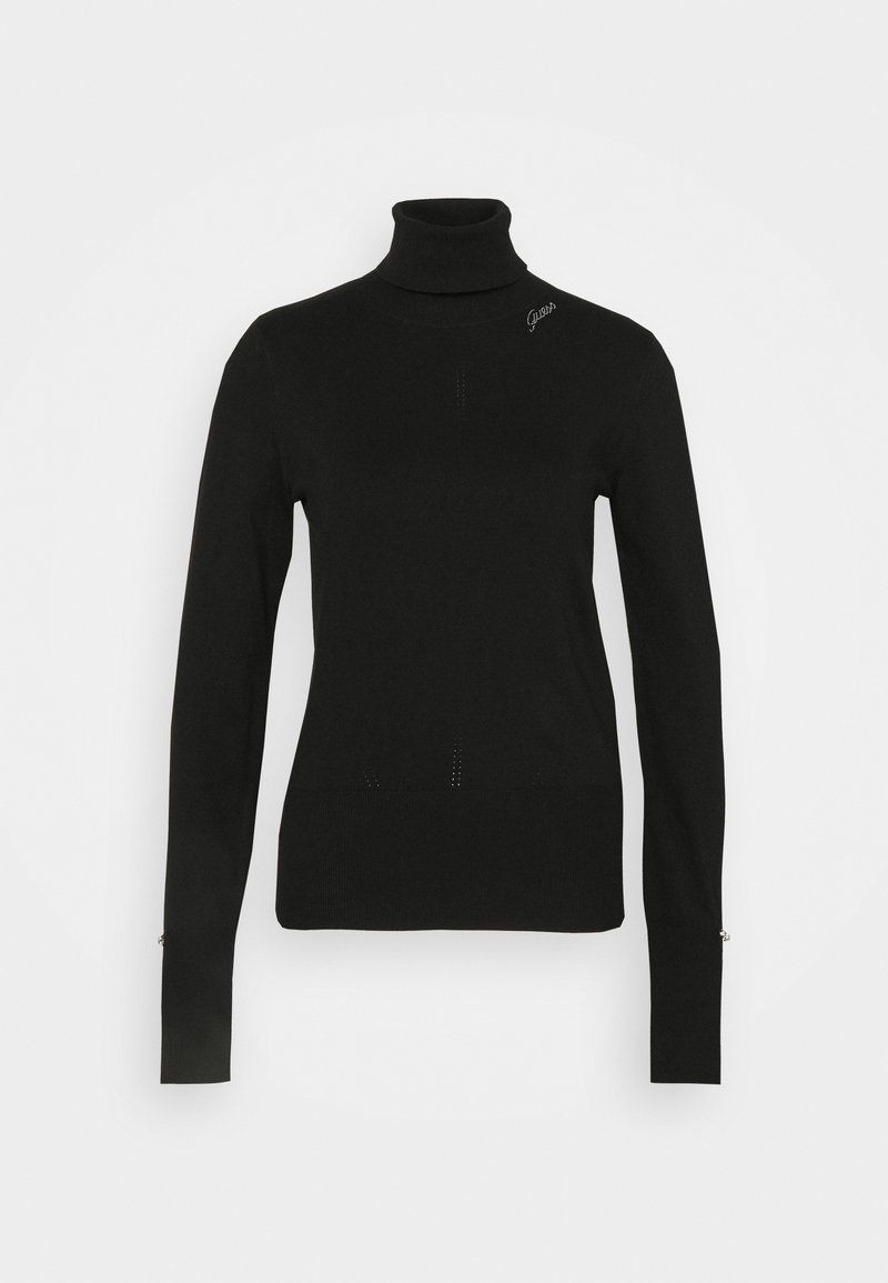 Guess - ALBA TURTLE NECK - Jumper - jet black