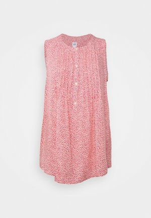 PINTUCK  - Bluser - pink ditsy