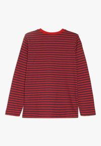 Zalando Essentials Kids - 4 PACK - Langærmede T-shirts - light grey melange/red - 1