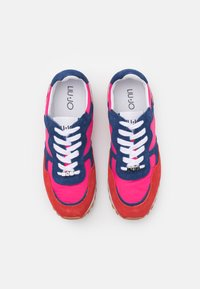 Liu Jo Jeans - Sneakersy niskie - rouge/cobalt/fuxia - 5