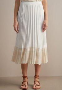 Falconeri - A-line skirt - bianco - 0
