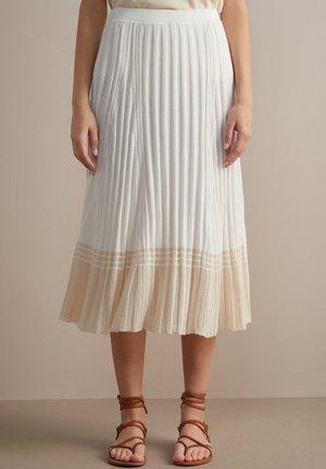 A-line skirt - bianco