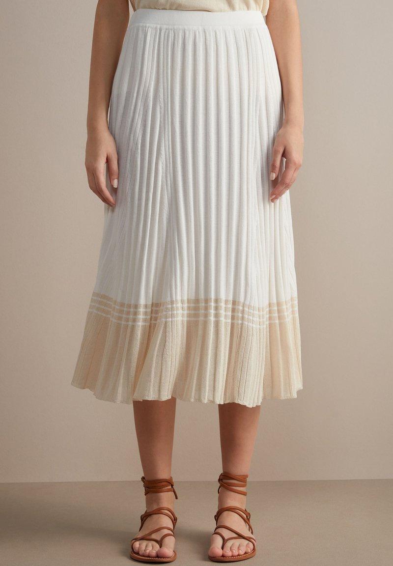 Falconeri - A-line skirt - bianco