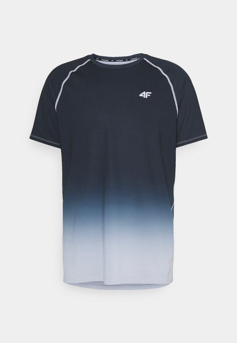 4F - HERREN FEDJA - Print T-shirt - black