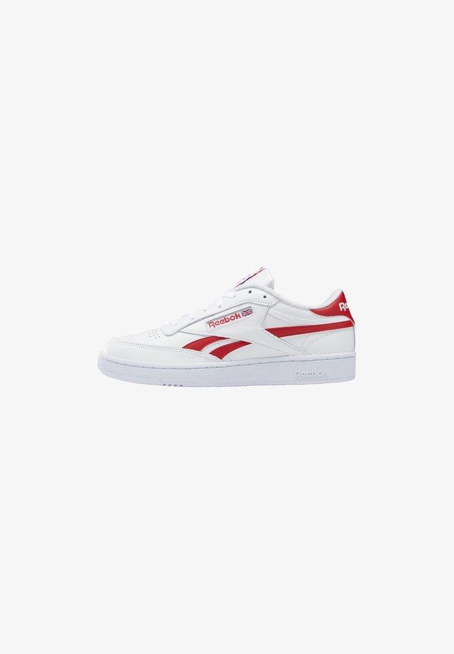 CLUB C REVENGE - Sneakersy niskie - white/red/white